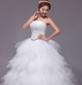 娘结婚婚纱礼服新款2015春韩版时尚抹胸蕾丝修身齐地